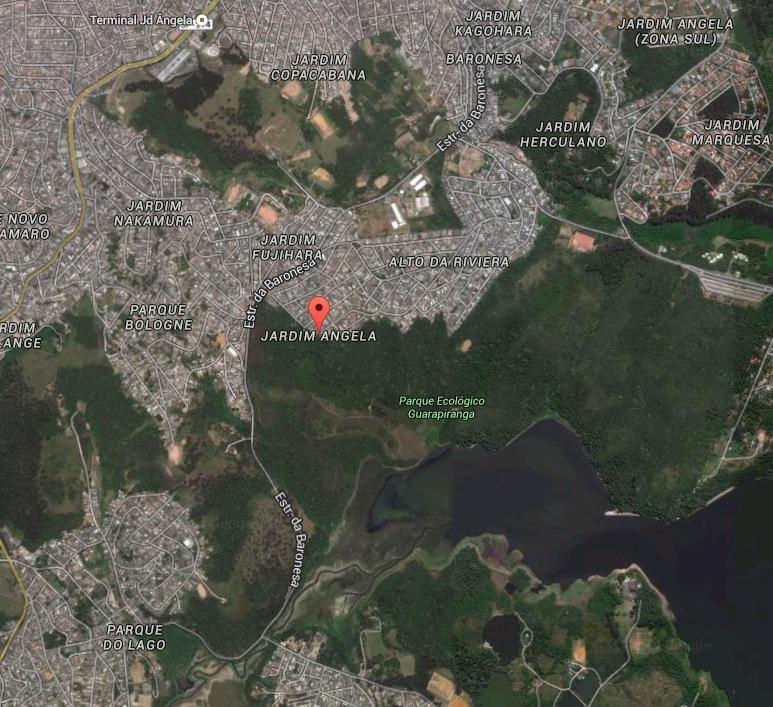 Surroundings of Jardim Angela. Image via Google Maps.