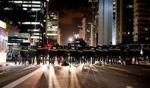 June Riots in Paulista Avenue – São Paulo 2013. Image by Pedro Chavedar.