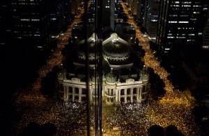 Downtown Rio – Rio de Janeiro 2013. Image by Felipe Dana.